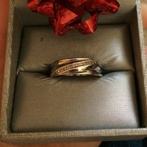 Men's Diamond Wedding Band - new, never worn.